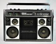 National Panasonic Rs-457 Cassette Radio Boom Box Vintag Maintained Works