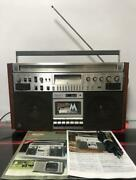 National Panasonic Rx-5700 Cassette Radio Boom Box Vintag Maintained Works