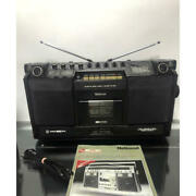 National Panasonic Rs-4250 Cassette Radio Boom Box Vintag Works Great Maintained