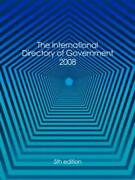 International Directory Of Government 2008 English Hardcover Book Free Shippin