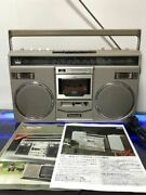 National Panasonic Rx-5600 Radio Cassette Boom Box Vintag Works Maintained