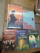 Set Of 5 Books Of Jean-louis Curtis The Tea On The Cypress - The Parade