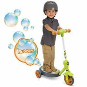 Huffy Kid Toy 6v 2 In 1 Bubble Scooter Dragons Toy Green 3 - 5 Years