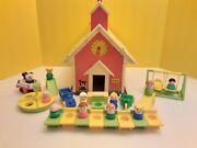 School 923 Extra Pieces And People Vintage Fp Little People