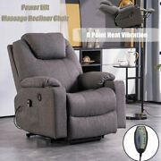 Electric Full Body Massage Chair Recliner Zero Gravity Lounge Armchair Usb Heat