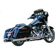 Sands Cycle El Dorado 50 State Exhaust Chrome With Tracer Tips 550-0851