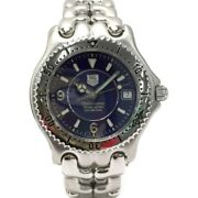 Tag Heuer Professional 200 Wg5114-p0 Automatic Date Navy Dial Men's Watch 37mm