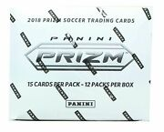 2018 Panini Prizm World Cup Soccer Fat Pack Cello Factory Sealed Box