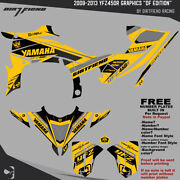 Yfz450r Graphics 2009-2013 Dfr Df Edition Yellow Sides Fenders