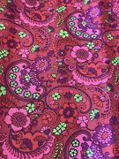 Vintage Marvalon Groovy Paisly Design Contact Paper