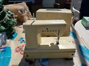 Vintage Singer Little Touch And Sew Sewing Machine Model 67a23. 1960's