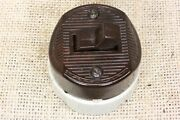 Old Toggle Snap Switch Bakelite Porcelain 2 Way Wire Vintage Single Pole 1920andrsquos