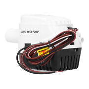 Auto Submersible Boat Bilge Water Pump High Efficiency Built‑in Float Switch