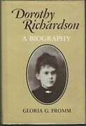 Dorothy Richardson Bio A Biography By Fromm, Gloria G Book The Fast Free