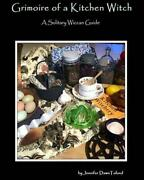 Grimoire Of A Kitchen Witch By Jennifer Dawn Toland English Paperback Book Fre