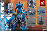Hot Toys Andndash Mms391 Andndash Iron Man 3 Andndash 1/6th Scale Blue Steel Mark Xxx Acyion Figure