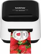 Brother Vc-500w Versatile Compact Color Label And Photo Printer With Wireless...