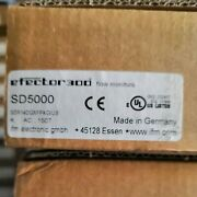 One New Ifm Sd5000 Flow Monitors In Box Free Shipping