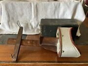 Antique Vintage Underwood 1901 Stereoscope 3d Photograph Viewer With 24 Cards