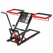 Pro Lift T-5305 Lawn Mower Lift With Hydraulic Jack For Riding Tractors And Zero