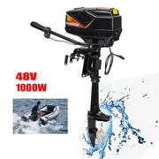 48v 100a Electric Outboard Motor Engine Boat Engine Inflatable Boats 1000w