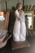 Willow Tree Hand-painted Sculpted Mother Daughter Figurine Close To Me