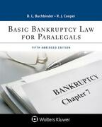 Basic Bankruptcy Law For Paralegals Abridged By David L. Buchbinder English P