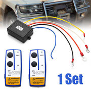2wireless Winch Remote Control Kit 12v 50ft For Car Truck Jeep Atv Warn Ramsey