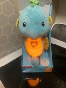 Fisher Price Soothe And Glow Seahorse Newborn To Infant - Blue