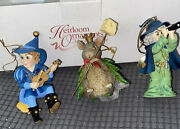 Heirloom Ornaments By Ashton Drake Wizard Of Oz Box The Munchkin, The Queen Of