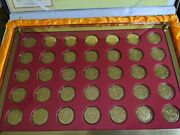 2008 Beijing Olympics Commemorative Medallion Gold Plated Set For Pictograms