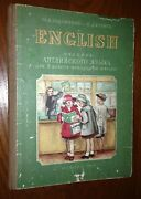 English Textbook Soviet School 1949 Ussr Printed By Reparations In Germany