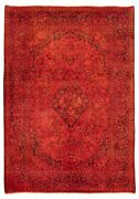 Hand-knotted Carpet 8and0391 X 11and0397 Traditional Vintage Wool Rug...discounted