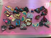 Lot Of 27 Official Kentucky Derby Festival And Pegasus Lapel Pins 80andrsquos/90andrsquos