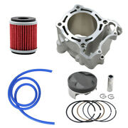 77mm Cylinder Piston Rings Oil Filter Fuel Tube For Yamaha Wr250f Yz250f 01-13