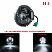 For Sportster Xl 883 1200 5.75 H4 Round Sealed-beam Motorcycle Led Headlight