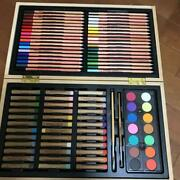 Hello Kitty Colored Pencil Crayon Paint Wooden Box Set