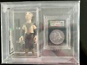 Vintage Kenner Star Wars Yak Face - With Coin - Afa 85+- Last 17 - Potf