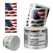 200 Usps Stamps 2017 Us Flag Forever America Postage Stamps Free 2 Coils
