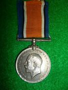Ww1 Silver British War Medal To Fitchet, 3rd South African Infantry Transvaal