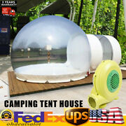 Inflatable Grade One Room Pvc Clear Eco Dome Camp Bubble Tent + Blower Hotsale