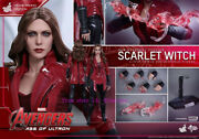 Hot Toys - Mms357 - Avengers Age Of Ultron - 1/6 Scarlet Witch Action Figure