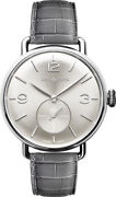New Bell And Ross Vintage Ww1 Silver Dial 41mm Menand039s Watch Brww1-me-ag-si/scr