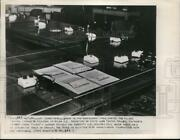 1954 Press Photo Us Secretary Of State, Allied Control Authority Table With