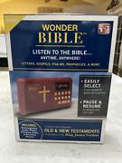 Wonder Bible Audio Player - King James Version, Old And New Testament Audio Book