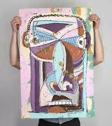 Bobby Kareem Hill - Stand On Your Square - Iv - 1/1 - Sold Out - 26 X 36 Print