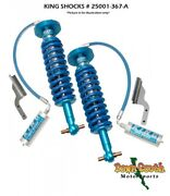 King Shocks Front Kit With Adjusters For 2015 + Ford F150 4wd 25001-367-a