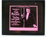 The Gay Lord Quex 1919 Glass Slide - Tom Moore - Free Shipping