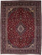 Rare Traditional Floral Design 10x13 Medallion Semi Antique Oriental Rug Carpet