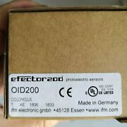 One New Ifm Oid200 Laser Ranging Sensor In Box Free Shipping
